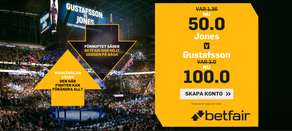 speltips, betting, tips, MMA, betfair